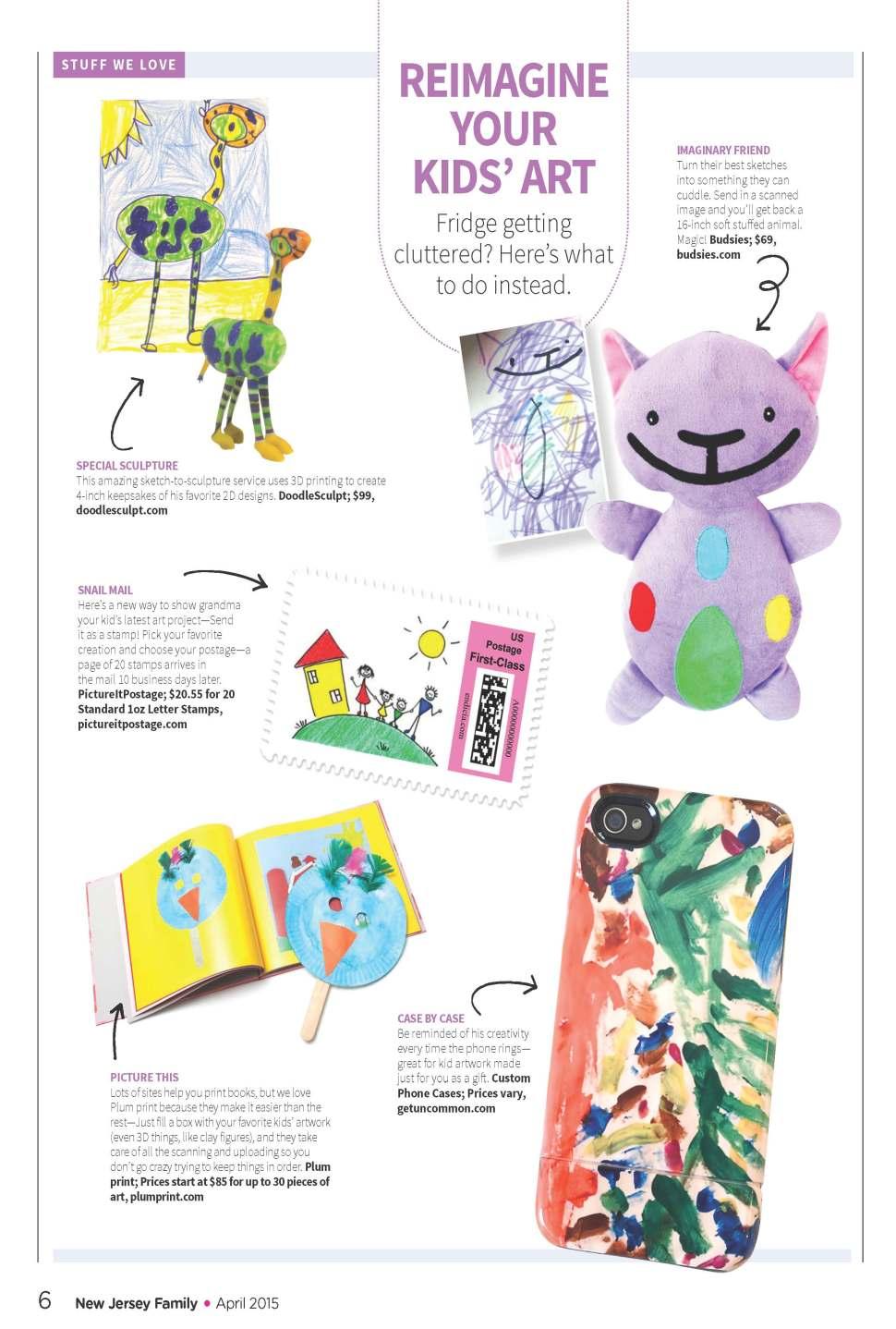 Reimagined Kids Art